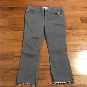 Madewell Cali Demi Boot Cut Jeans